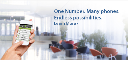 One Number. Many phones. Endless possibilities.