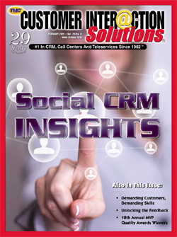 Customer Interaction Solutions Magazine February 2011