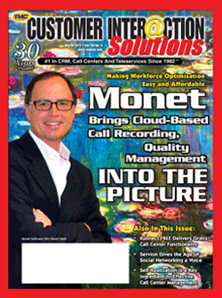 Customer Interaction Solutions Magazine March 2012