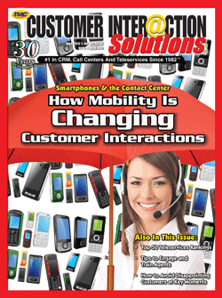 Customer Interaction Solutions Magazine April 2012