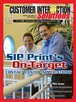 Customer Interaction Solutions Magazine May 2011