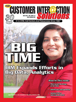 Customer Interaction Solutions Magazine June 2012