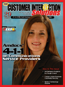 Customer Interaction Solutions Magazine August 2010
