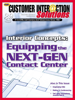 Customer Interaction Solutions Magazine October 2010