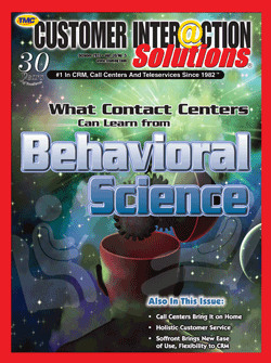 Customer Interaction Solutions Magazine October 2011