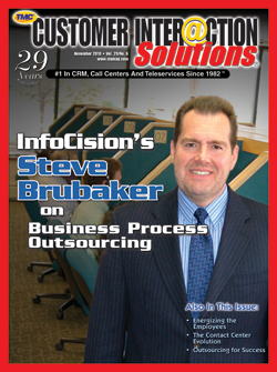 Customer Interaction Solutions Magazine November 2010