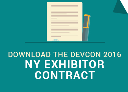 Download the DevCon NY Exhibitor Contract