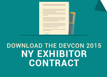 Download the DevCon 2015-NY Exhibitor Contract