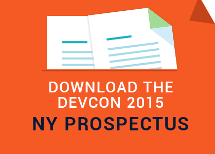 Download the DevCon 2015-NY Prospectus