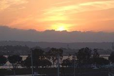 San Diego, CA Sunset - Click to Enlarge