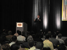 Tom Ridge - Keynote (Click to Enlarge)