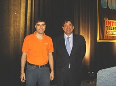 Mark Spencer, Digium, Inc. and Rich Tehrani, TMC (Click to Enlarge)