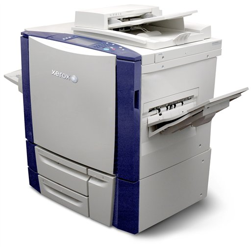 In this product Image provided by Xerox Corp., the Xerox Colorcube 9200 series copier is shown. Xerox Corp. more than doubled its third-quarter profit as sales of office equipment continued to bounce back and its recent acquisition of outsourcer Affiliated Computer Services fueled growth in services revenue. (AP Photo/Xerox Corp.) NO SALES