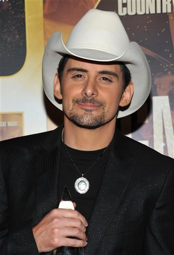 brad paisley this is country music. Wednesday,. Brad