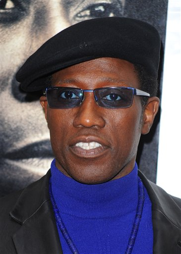 FILE - In this March 2, 2010 file photo, Wesley Snipes attends the premiere of 'Brooklyn's Finest' in New York. (AP Photo/Peter Kramer, file)