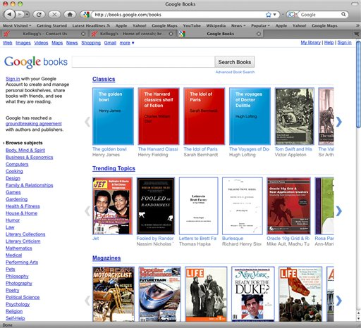 In this screen shot the Google books website is shown. The long-awaited Internet book store opening Monday, Dec. 6, 2010, in the U.S., draws upon a portion of the 15 million printed books that Google has scanned into its computers during the past six years. (AP Photo/Google.com) ** NO SALES **