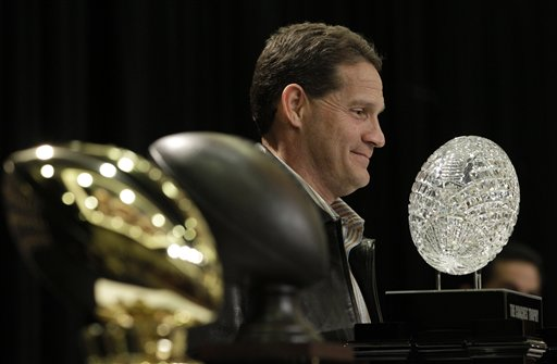 Auburn head coach Gene Chizik answers questions at a news conference after the BCS National Championship NCAA college football game Tuesday, Jan. 11, 2011, in Scottsdale, Ariz. Auburn beat Oregon 22-19 to capture the championship. (AP Photo/Charlie Riedel)