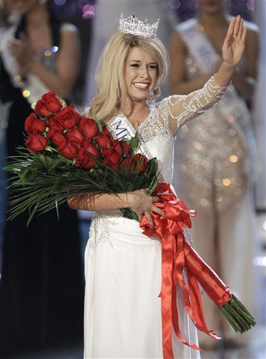 Miss America 2011 during