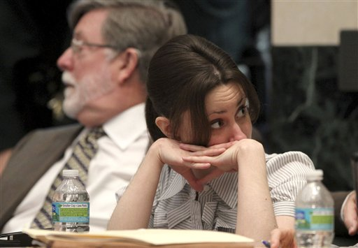 pictures casey anthony partying. Casey Anthony reacts in court