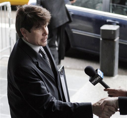 blagojevich wife. When Blagojevich stopped and