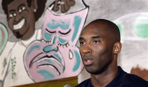 Kobe Bryant Family Photos. star Kobe Bryant announces