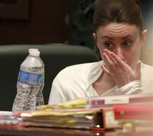 casey anthony pictures of evidence. Casey Anthony weeps