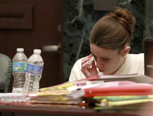casey anthony pictures of evidence. Casey Anthony weeps as