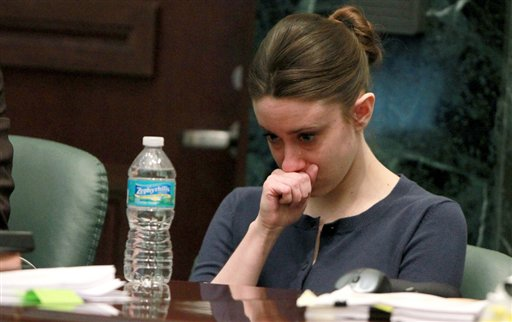 casey anthony trial photos evidence. Casey Anthony listens to