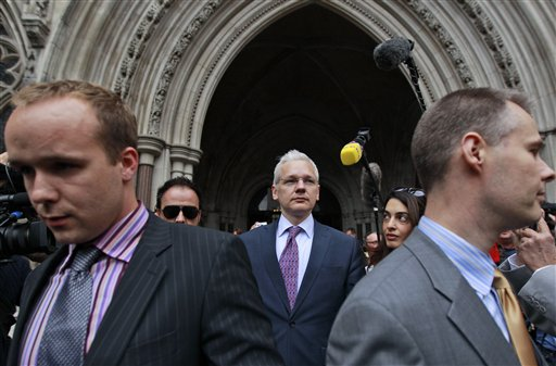 ... Julian Assange on Wednesday focused their fight against the WikiLeaks