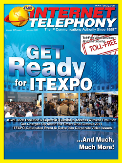 Internet Telephony Magazine January 2011