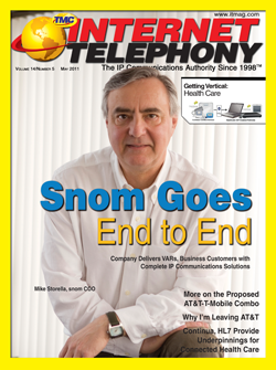 Internet Telephony Magazine May 2011