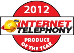 Internet Telephony 2010 Product of the Year Award
