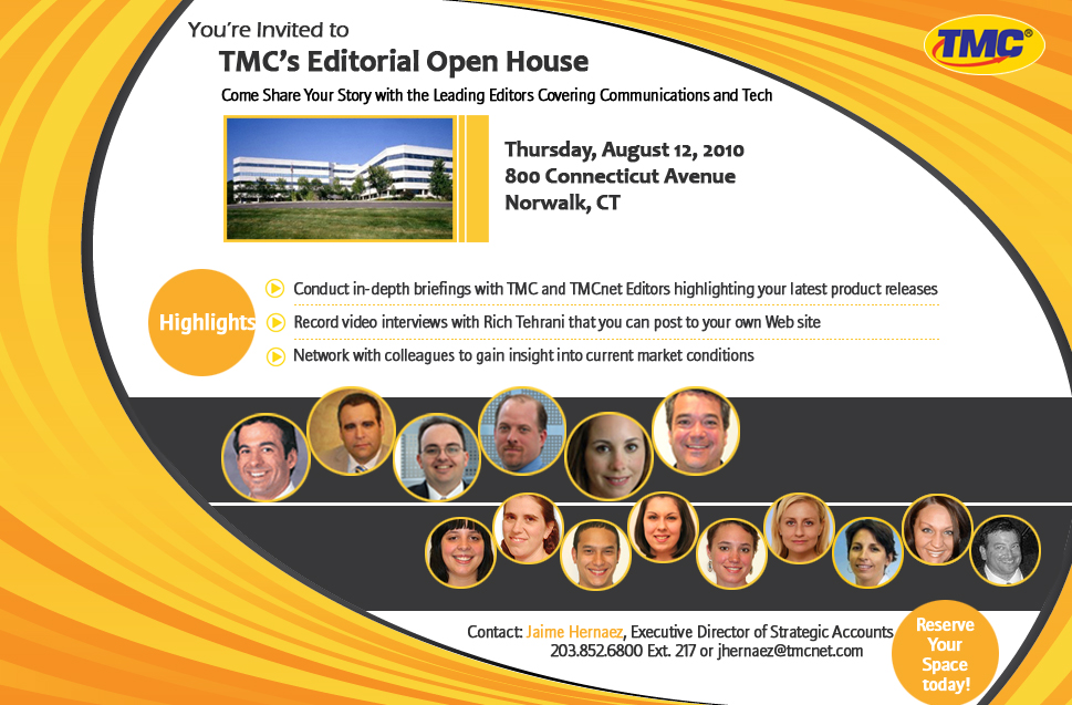 TMC's Editorial Open House