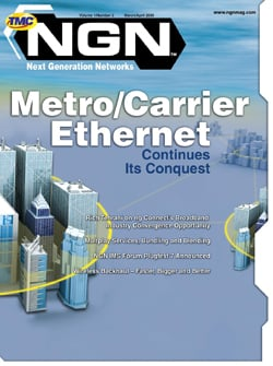Next Generation Networks Magazine March/April 2009 Online