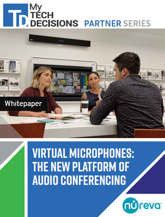 VIRTUAL MICROPHONES: THE NEW PLATFORM OF AUDIO CONFERENCING