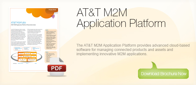 Machine to Machine Solutions - AT&T M2M 360 AT&T Application Platform Brochure Download