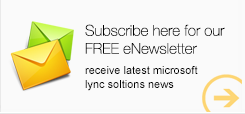 Microsoft Lync Solution News free eNewsletter sponsored by Patton