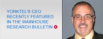 Video Managed Services - Yorktel's CEO was recently featured in the Wainhouse Research Bulletin