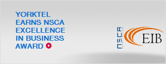 Video Managed Services -  Yorktel Earns NSCA Excellence in Business Award