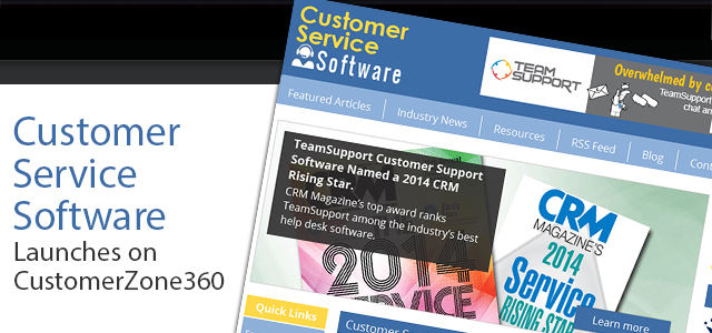 Customer Service Software Launches on CustomerZone360