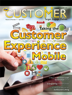 Customer  Magazine  April 2013
