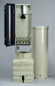 Fiber Interconnect Pedestal from Charles Industries