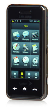 Samsung's 'Instinct' Phone (SPM-M800) Phone from Sprint, Photo Courtesy CNet's Crave Blog