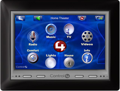 Control4's 7-inch POE Wall Mount Touch Screen