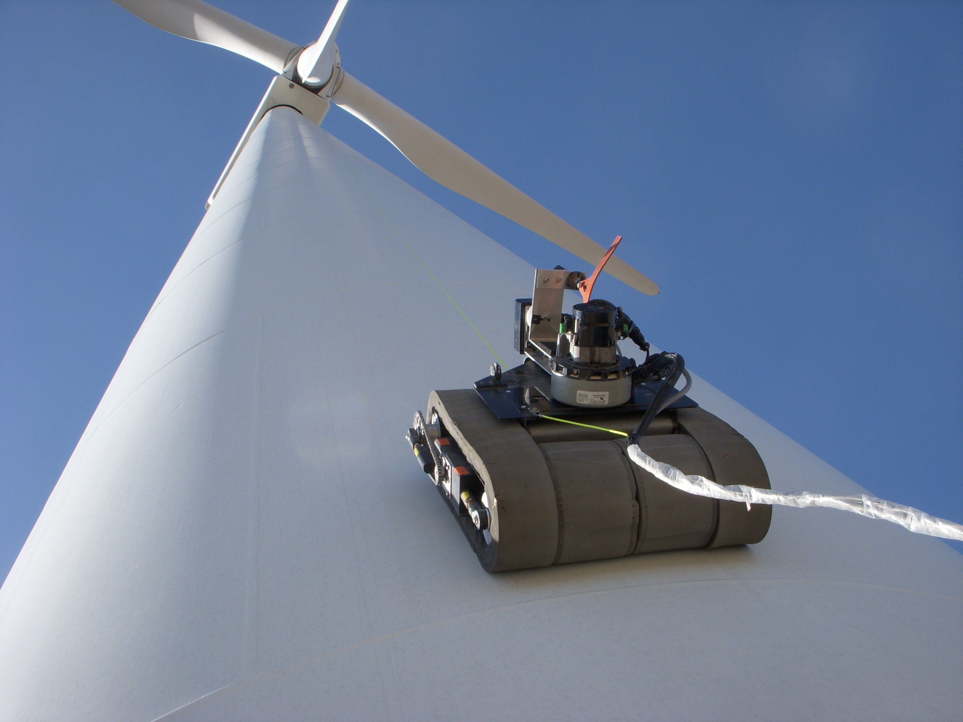 GE Takes Wind Turbine Inspection to New Heights Using M2M Technology