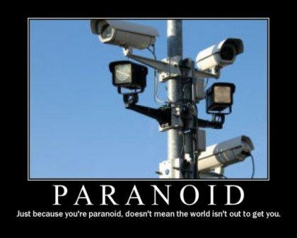 Twenty totally random questions about you... Paranoid