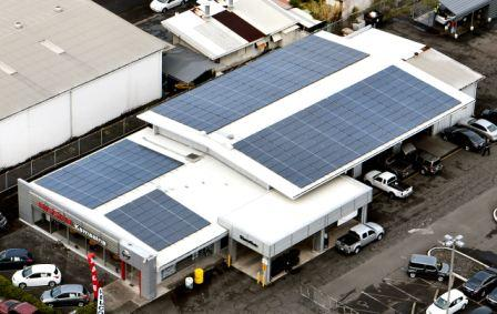 Kyocera solar helps hawaii 39 s auto dealers steer clear of for Kamaaina motors used cars