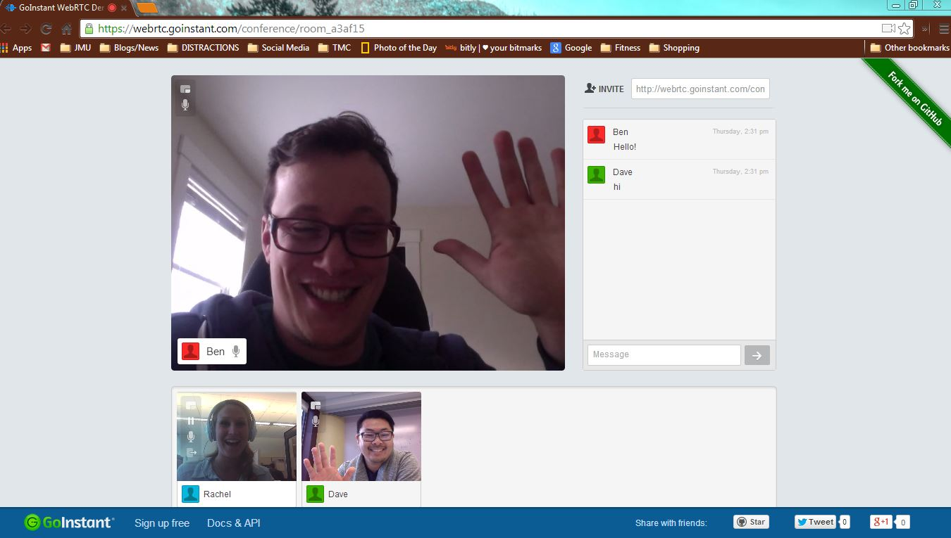 GoInstant Makes Video and Audio Conferencing Simple with WebRTC