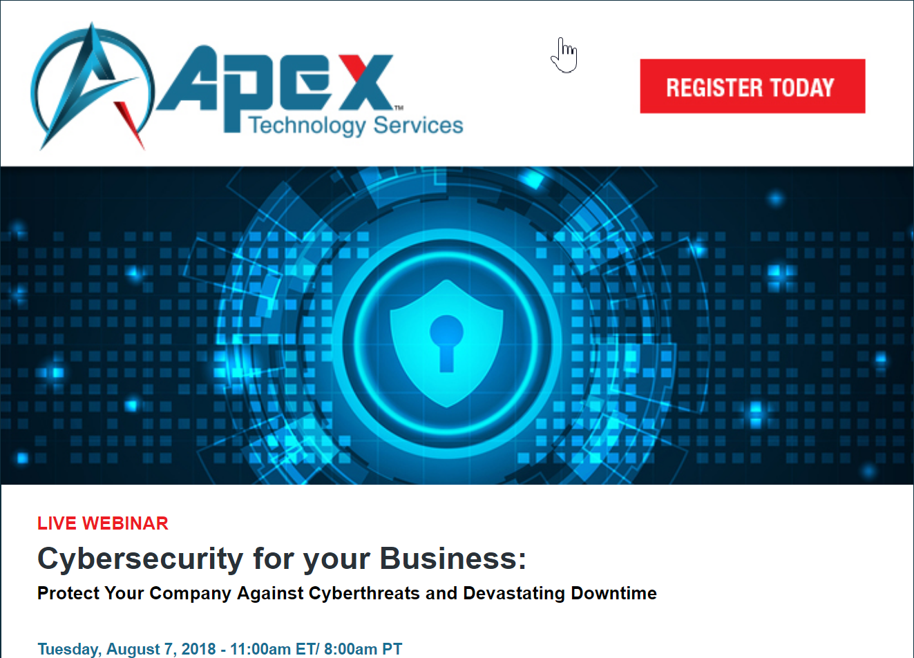 Apex tapped as cybersecurity expert in tv news story about police please register for this free webinar now tuesday august 7 2018 1100am et 800am pt even if you cant make it live well archive it for 12 months fandeluxe Image collections