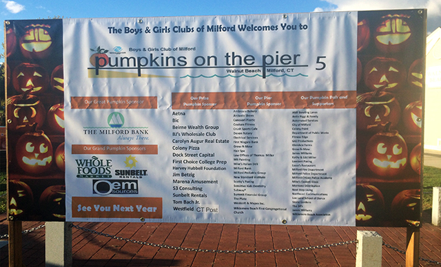 5th Annual Pumpkins On The Pier Event
